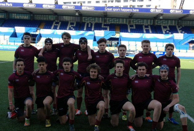 Cathedral School U16 Rugby team win Cardiff Schools Cup
