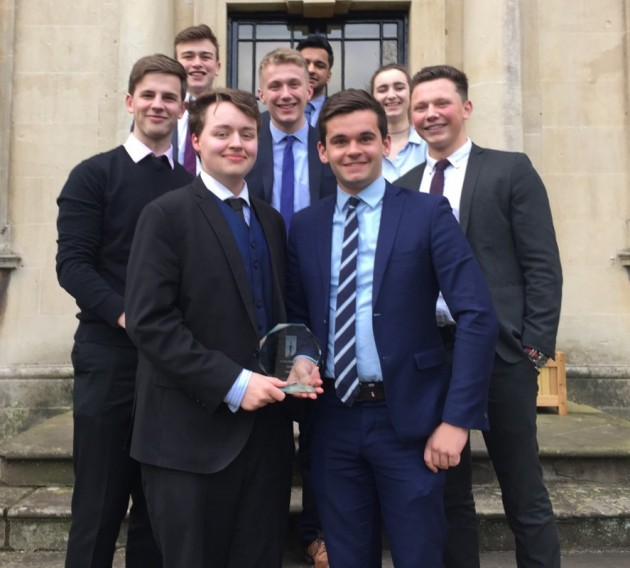 Economists win South Wales Heat of the ICAEW BASE Schools Competition