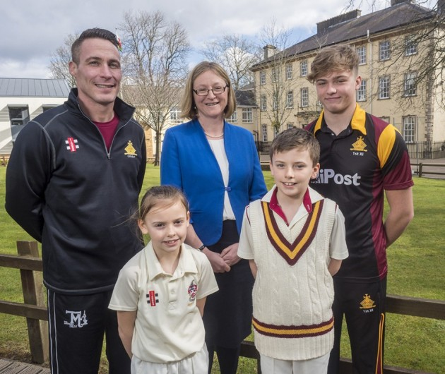Former England & Glamorgan cricketer Simon Jones, MBE joins the Cathedral School